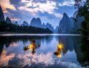 Guilin mountains China