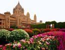 Rambagh palace gardens India