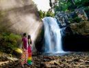 Tegenungan waterfall indonesia