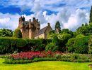 Crathes castle gardens scotland