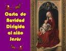 Carta de Navidad al niño Jesús