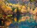 Jiuzhaigou en otoño