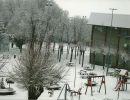 Aranda de Duero con nieve