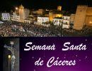 La Semana Santa de Cáceres, Procesiones
