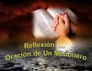Reflexión: Oración de un Misionero
