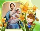 ¡Ave María de mi niñez!