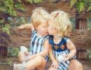 Niños por Kathryn Andrews Fincher