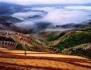 A Agricultura em socalcos dos Chineses Hanis